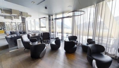 AlpenGold Hotel Davos – Rooftop